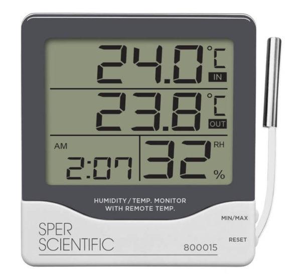 Đồng hồ nhiệt độ 800015 Sper Scientific