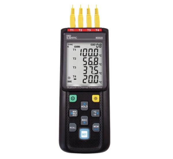 Máy đo nhiệt kế điện tử 800025 Bluetooth Sper Scientific