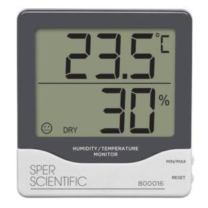 Nhiệt kế đo nhiệt độ phòng 800016 Sper Scientific